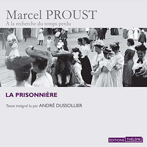La prisonnière audiobook cover art