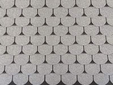 Isolbau Dachschindeln 2 m² Biberschindeln Grau (14 Stk) Schindeln Dachpappe Bitumenschindeln Gartenhaus Vogelhaus Holz Kaninchenstall Betonsäulenüberdeckung Hundehütte