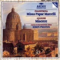 Palestrina: Missa Papae Marcelli by Choir of Westmister Abbey (1986-02-28)