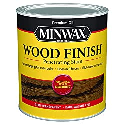 how to stain wood, best stain color, farmhouse stain color, walnut stain color, minwax stain colors