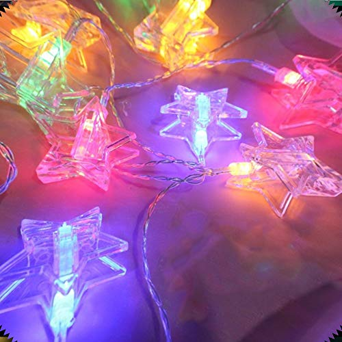 Clip-lichtsnoer, led, string licht, decoratieve wand, kerstboom, hangende sokken, clip foto, warm wit, kleur, batterijvoeding meisjes slaapkamer, feest, bruiloft, wijn