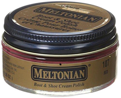 Meltonian Shoe Cream, 1.55 Oz, Red