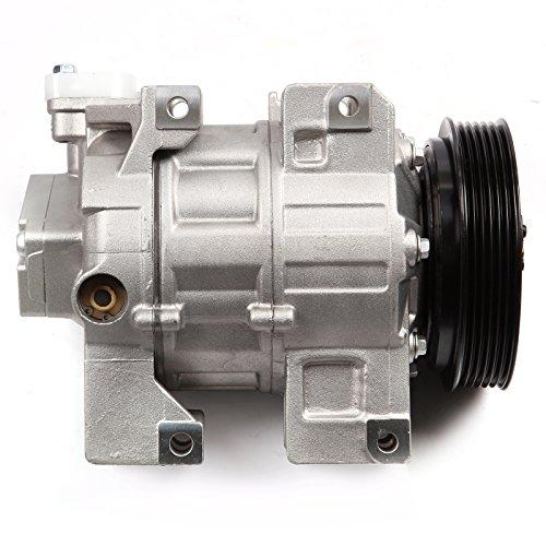 INEEDUP AC Compressor and A/C Clutch for 2007-2012 Nissan Sentra Altima 2.5L CO 10886C