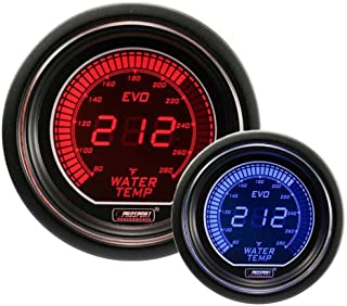Water Temperature Gauge- Electrical Red/blue EVO Series 52mm (2 1/16