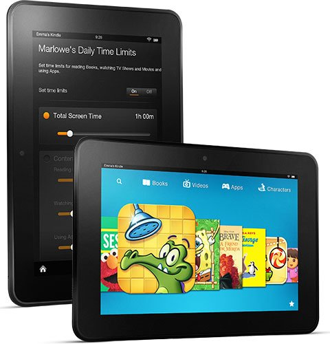 """Kindle Fire HD 8.9"""", 8.9"""" HD display, 16 GB or 32 GB, Wi-Fi or Optional 4G LTE Wireless (Previous Generation - 2nd)"""