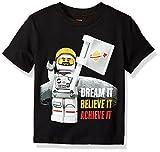 Lego Boys' Big T-Shirt, black, 8