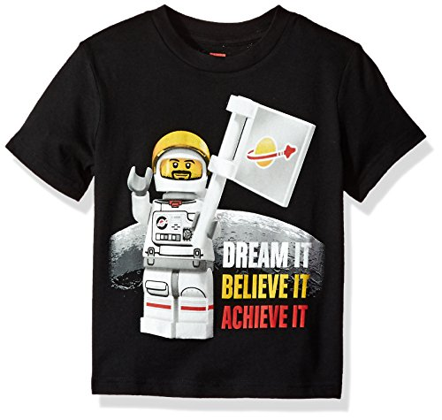 Lego Boys' Little T-Shirt, Black, 5/6