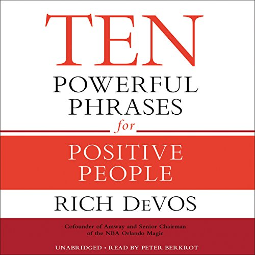 Ten Powerful Phrases for Positive People audiobook cover art