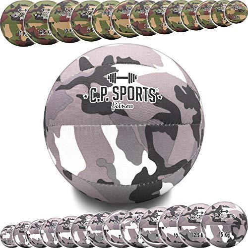 C.P. Sports Balón medicinal camuflaje militar