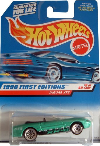 Hot Wheels - 1998 First Editions - #5 of 40 - Jaguar segunda mano  Se entrega en toda España