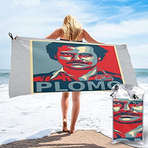 Narcos Pablo Escobar El Patron Toalla de baño Manta de secado rápido para viajes, natación, piscina, yoga, camping, gimnasio, deporte, 70 x 140 cm