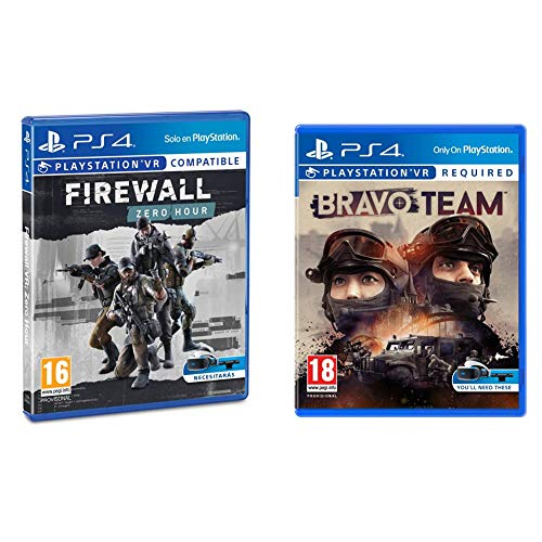 Sony CEE Games (New Gen) Firewall VR + Bravo Team