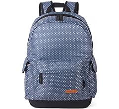 Middle School mochila de hombro doble Pack chica nad Edition college Storm punto bolsas de hombro estudiante mochila de viaje de placer, Negro 80-19: Amazon.es: Equipaje
