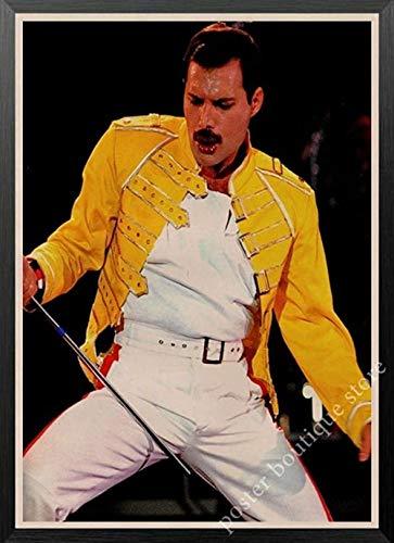 LDTSWES® Rompecabezas Rompecabezas Queen Band Music Freddie Mercury, Rompecabezas de Madera de 1000 Piezas, Adolescentes Adultos Juegos de Rompecabezas Juguetes Rompecabezas de ensamblaje