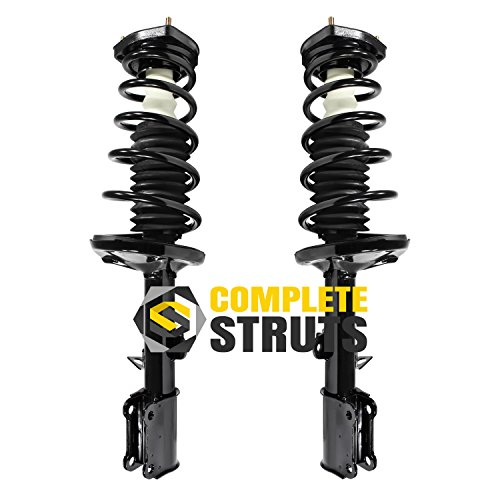 Rear Complete Struts & Coil Spring Assemblies Compatible with 1993-2002 Toyota Corolla (Pair)