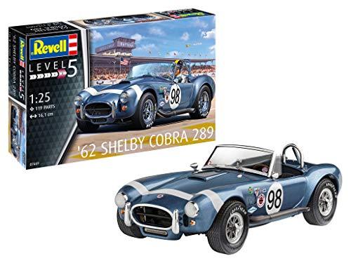 Revell 07669 - maquette de voiture AC Cobra 289 à construire, échelle 1/25