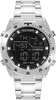 Relógio Technos Masculino Digital Prata - BJ3589AA/1K