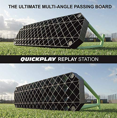 QUICKPLAY REPLAY STATION | 2in1 Reversible Football Rebound Board – 100cm x 30cm