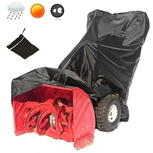 Buy KYC Snow Thrower Cover, 2-Stage Snow Blowers Covers with Carry Bag, and Durable Oxford Polyester...