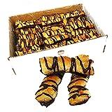 LAPASION - Lazos hojaldre rayado con chocolate   2.5 Kg