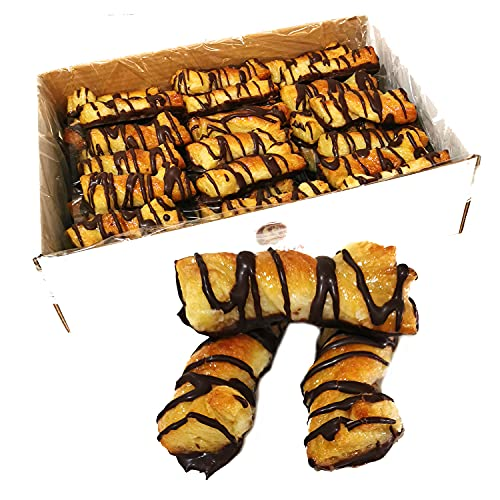 LAPASION - Lazos hojaldre rayado con chocolate | 2.5 Kg