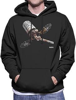 NASA Cygnus Enhanced Cargo Spacecraft Men's Hooded Sweatshirt