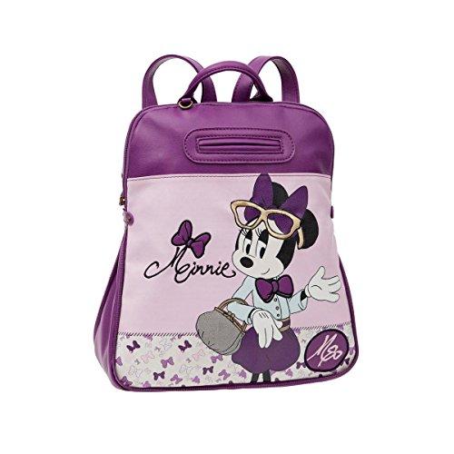 Disney Minnie Glam Sac Scolaire, 35 cm, 13,02 L, Rose