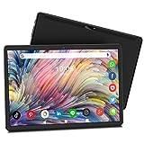 Meize 10.1インチタブレット Android 9.0 1.6GHzCPU 8コアプロセッサ 1920 * 1200 FHD画面表示 2.4GHz/5GHz高速WIFI 2GB RAM+ 32GB ROM デュアルカメラ2MP + 5MP(黒)