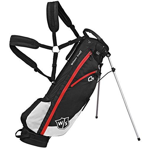 Wilson W/S QS - Borsa per Golf, Colore: Nero