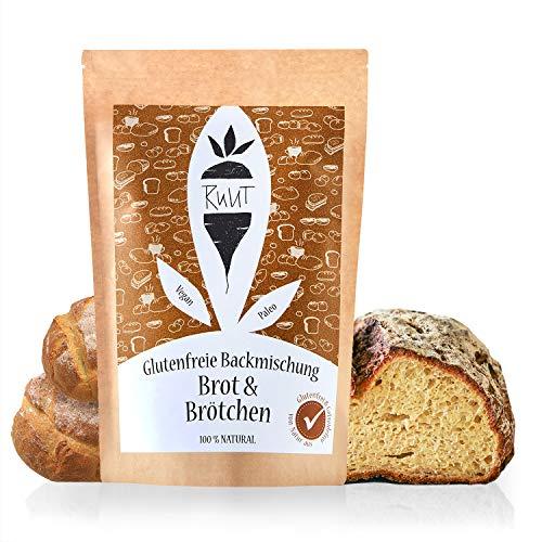 Ruut Glutenfreie Brotbackmischung mit Maniokmehl / 810 Gramm Vorratspackung / Weizenersatz Backmischung für Brot und Brötchen ohne Zusatzstoffe & mit glutenfreiem Mehl / Paleo, vegan & nachhaltig