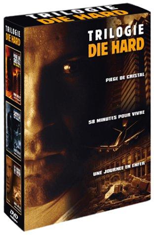 Coffret Die Hard 3 DVD - La Trilogie : Piège de cristal / 58 minutes pour vivre / Une journée en enfer