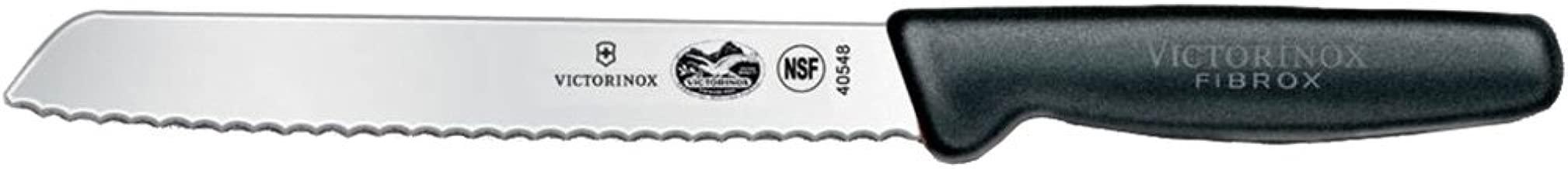 New Victorinox Serrated Edge Bread Knife 21Cm Fibrox 5.1633.21