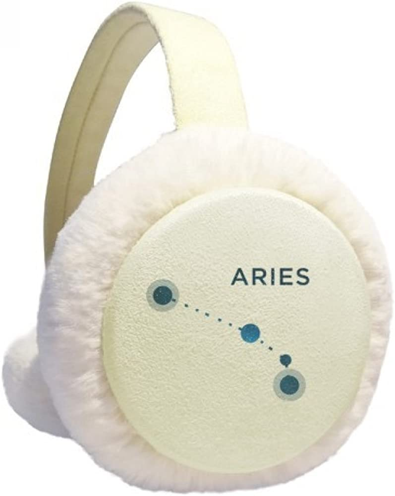 Aries Constellation Sign Rapid rise Zodiac Winter Fur Warmer Knit 4 years warranty Ear Cable
