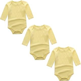 BINIDUCKLING Body para Bebé Niña Ropa Interior Pack de 3