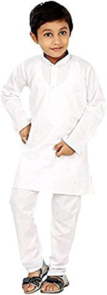 Royal Kurta Men's Kid'Scotton Kurta Pyjama