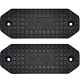 DeYoung Gun Magnet 2-Pack, 46lbs Rated Magnetic Gun Mount, Anti Scratch HQ Rubber Coated, Concealed Firearm Holder for Rifle Pistol Magazines in Vehicle Truck Car Wall and Desk (2)