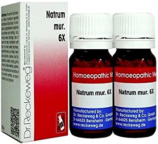 Dr.Reckeweg Germany Natrum Mur 6X Pack of 2