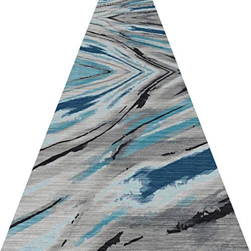 RUG Tappeto del corridoio- Tappeti per Corridoio Antiscivolo Lavabile Chemical Fiber Passatoia Funzionale da Interno per Piano Camera da Letto, Scala Lunghezze Personalizzabili (Size : 1×4m)
