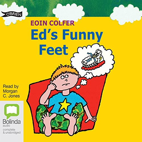 Ed's Funny Feet audiobook cover art