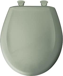 Bemis 7B200SLOWT 200SLOWT 355 Lift-Off Plastic Round Slow-Close Toilet Seat, Aspen Green - 7B200SLOWT 355