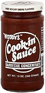 Woody's Cook-in' Sauce Barbecue Concentrate 13oz (Pack of 3)
