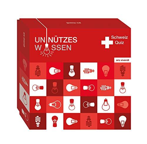 Unnützes Wissen Schweiz - 66 humorvolle und skurrile Fragen rund um die Schweiz - Schweiz-Quiz