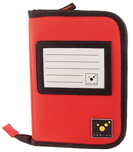 tee-uu DRIVE Organizer DIN A6 (rot und schwarz) (rot)