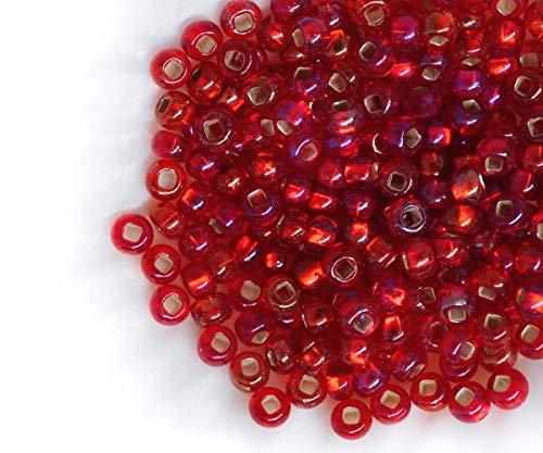 Perles De Verre 10 Mm gefrostet 32 Pièce Blanc environ