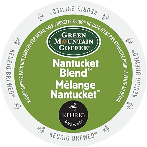 Green Mountain Coffee Nantucket Blend K-Cup Packs - 36 Count (Packaging May Vary)
