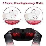 Zoom IMG-2 massaggiatore cervicale misiki schiena shiatsu
