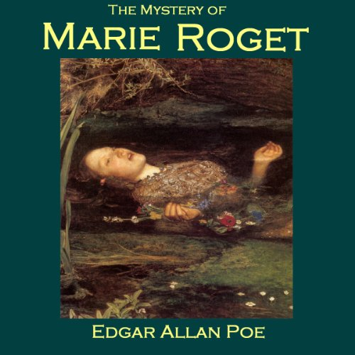 The Mystery of Marie Roget audiobook cover art