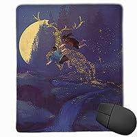 スタードリームドリーム マウスパッド ゲーミングマウスパッド ラップトップマット pcマウスパッド リストレスト ラバーマット 滑り止め 耐久性 高級感 25*30