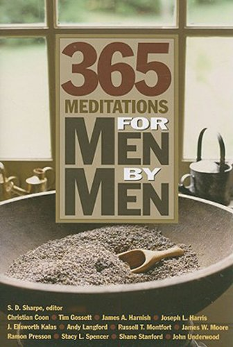 365 Meditations for Men by Men (English Edition)