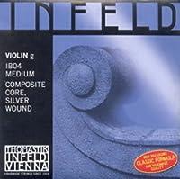 CUERDA VIOLIN - Thomastik (Infeld Azul/Ib04) (Plata) 4ェ Medium Violin 4/4